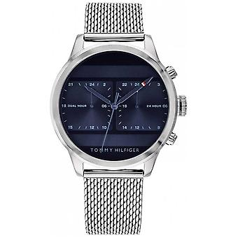 Tommy Hilfiger | Men's Stainless Steel Mesh | Blue Dial | 1791596 Watch