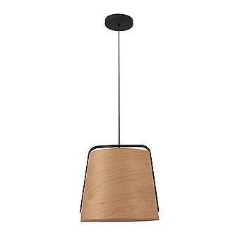 Faro - se tenait FARO29848 pendentif unique en bois noir et cerise