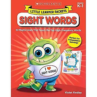 Kleine pakketten van de leerling: Zicht woorden: 10 speelse eenheden die leren van de Top woorden van hoge-frequentie (weinig leerling pakketten)