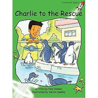 Rode raket lezers: Begin niveau 4 fictie ingesteld C: Charlie op de uitgave van het grote boek van de redding