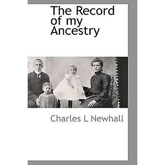 Registrering av min ætt av Newhall & Charles L