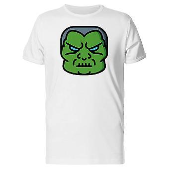 Grønne Monster Emoji Tee menn-bilde av Shutterstock