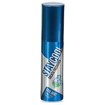Refrescante de respiración fresco, spray para aliento oral, menta fría 20ml