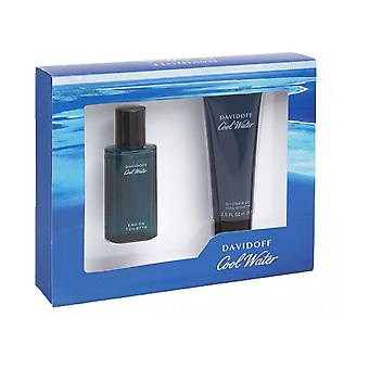 Cool Davidoff agua estuche 40ml EDT + Gel de ducha 75ml