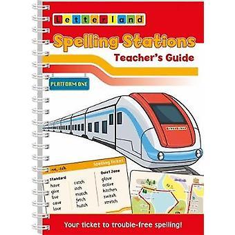 Spelling Stations 1 - Teacher's Guide by Lisa Holt - 9781782483007 Bo