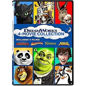 Dreamworks 4-Movie Collection [DVD] USA import