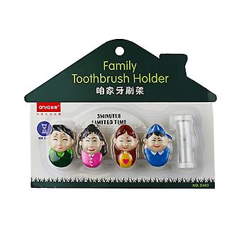 Toothbrush Holder family with hourglass