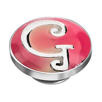 KAMELEON letra G Sterling Silver Colour JewelPop KJP7
