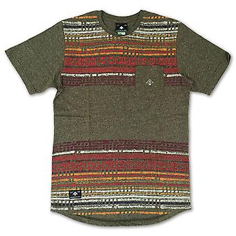Lrg Salazar T-shirt festonné Military Olive