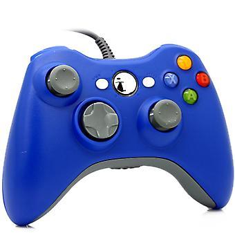 Trådad Spelkontroll för Windows och Xbox 360 - Blå