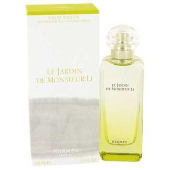 Le Jardin De Monsieur Li By Hermes Eau De Toilette Spray (unisex) 3.3 Oz (women) V728-531841