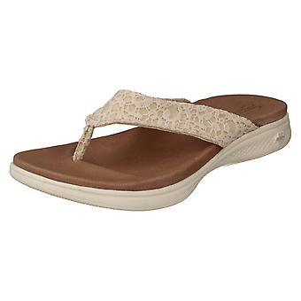 Ladies Skechers Toe Post Sandals Graceful 15321