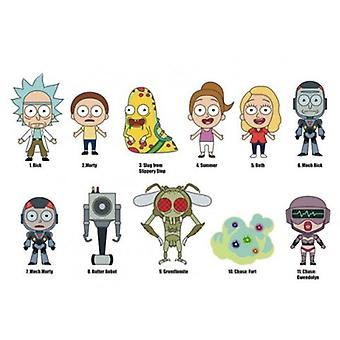 Key Chain - 3D PVC Foam Collectible - Rick and Morty Series 1 New 74005