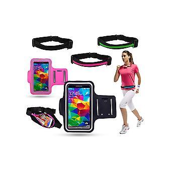 Træning kit bælte + armbånd-Samsung Galaxy S7 Edge