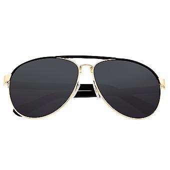 Sixty One Wreck Polarized Sunglasses - Gold/Black