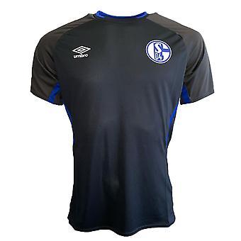 2019-2020 Schalke Umbro Training Shirt (Black)