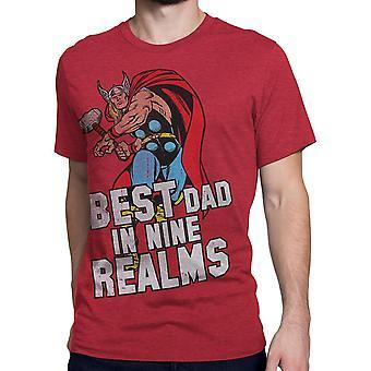 Thor Best Dad In Nine Realms Men's T-Shirt