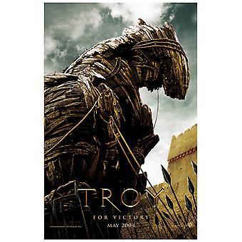 Troy (enkelsidig Advance Horse) (UV belagda/hög glans) original Cinema affisch