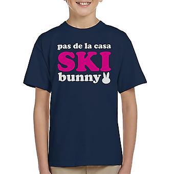 Pas De La Casa Sci Bunny Kid's T-Shirt