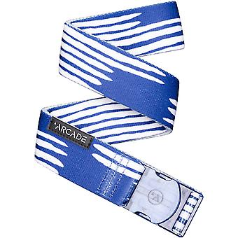 Arcade Ranger Webbing Belt in Blue/Dye