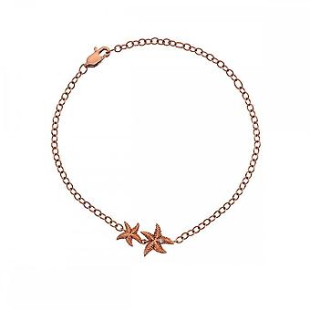 Hot Diamonds Eternal Love Bracelet Rose Gold Plate DL588
