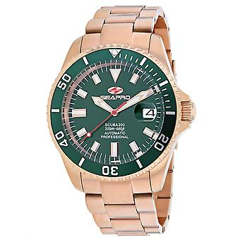 Seapro Men-apos;s Scuba 200 Green Dial Watch - SP4323