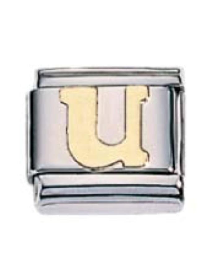 ZOPPINI S.Steel Letter-U Charm