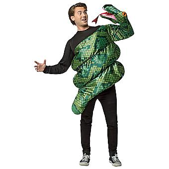 Anaconda Giant Green Snake Attack Reptiles Animals Adult Womens Mens Costume