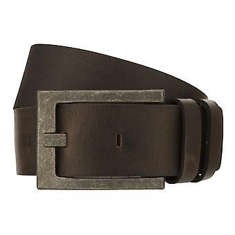 Teal Belt Men's Belt Leather Belt Jeans Belt Brown 8333