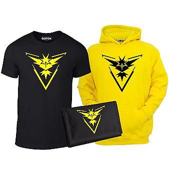 Kid's Team Instinkt T-shirt, Hoodie & Brieftasche Set