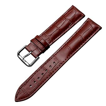 Replacement leather watch strap