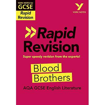 York Notes for AQA GCSE 91 Rapid Revision Blood Brothers