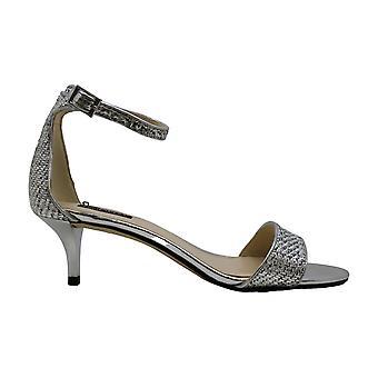 Nove West Womens LEISA couro Open Toe casual tornozelo cinta sandálias