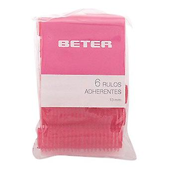 Beter 6 velcro rollers, 44 mm (Hair care , Accessories)