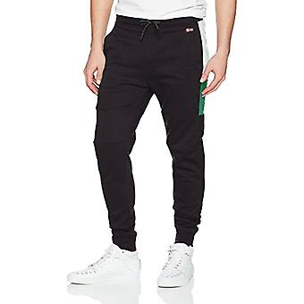 Southpole Men's Tech Fleece Basic Jogger Pants-Reg and Big & Tall Sizes, Gree...