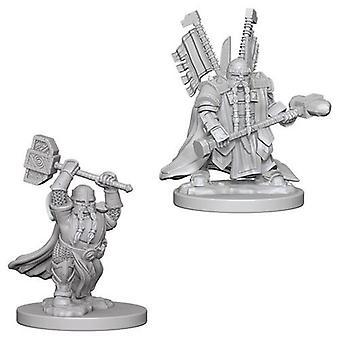 D&D Nolzur's Marvelous Unpainted Miniatures Dwarf Male Paladin (Pack of 6)
