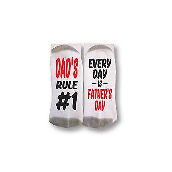 S221 Dad's Rules - Sock