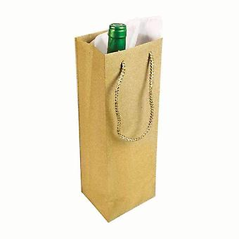 Diamant-Wein-Tasche Gold