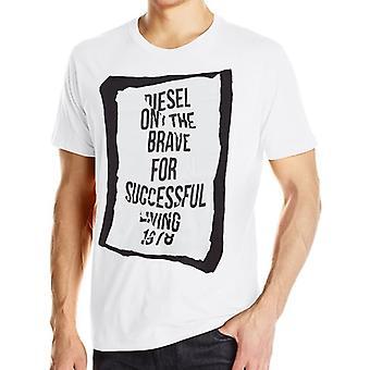 Diesel T-Shirt T-Pasc blanc