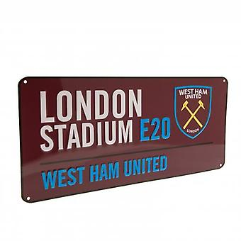 West Ham United gateskilt CL