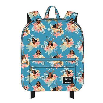 Moana Flower Print Backpack