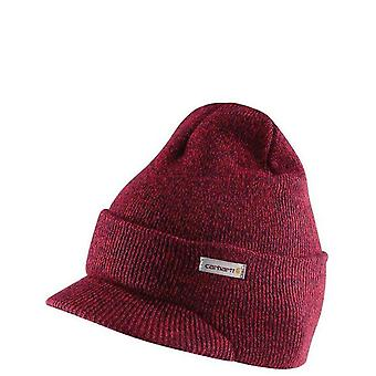 Carhartt a164 - winter knit hat with visor red