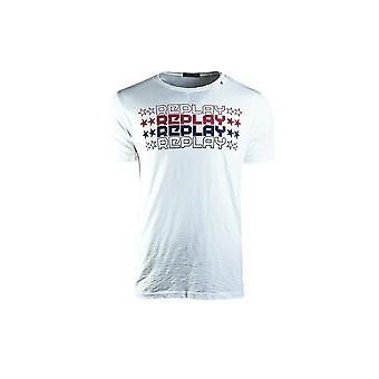 Replay M374022336001 camiseta universal de homens de verão