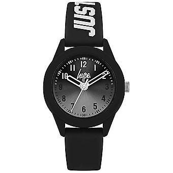 Hype | Black Silicone Strap | Grey Dial | HYK003B Watch