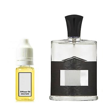 Aventus Creed For Him Inspired Fragrance 100ml Refill Essential Diffuser Oil Burner Scent Diffuser