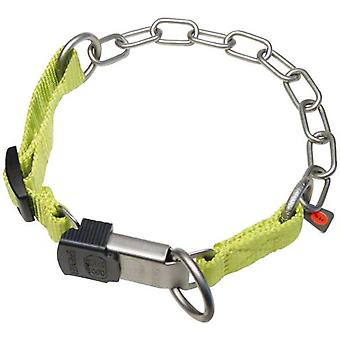 HS Sprenger complete combi necklace mate-nylon green lock