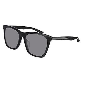 Balenciaga BB0017SK 003 Grey/Silver Mirror Sunglasses