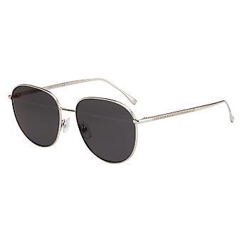 Fendi FF0379/G/S 0IH/7Y Palladium/Grau-Gold Spiegel Sonnenbrille