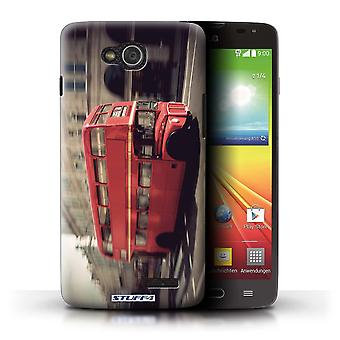 STUFF4 Case/Cover for LG L90 Dual/D410/Red Bus/London England