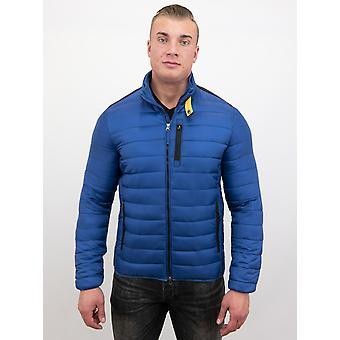 Short Jacket - Slim Fit - Blue